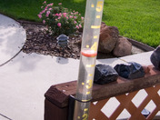 Almost 4 inches