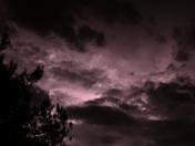 lighting over Auburn