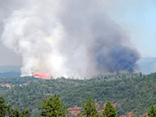 Mammoth Fire 7/16/09 at 4pm