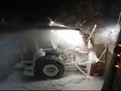 Clearing 20 inches off Truckee driveway 6am
