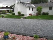Hail on the Street