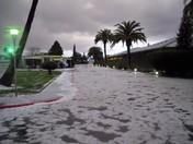 Hailstorm in Cordova @ MCC 11/27/090