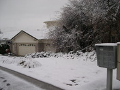 EDH Home in the Snow