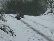 Snow in Cameron Park