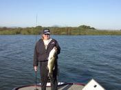 8 pound Delta bass