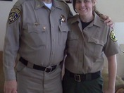 A CHP Lieutenant and his future sheriff deputy daughter