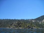 Fannette Island on Emerald Bay