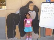 Jeanelle started Kindergarten