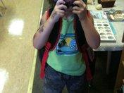 Elliott's First Day in Pre-School