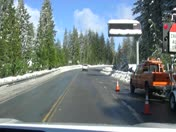 Chain Control at Dew Drop, Hwy 88