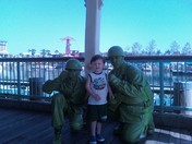 With The Green Army Men