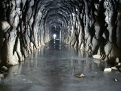 Ice Tunnel at Donner Summit