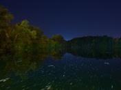 Mill Pond at Night