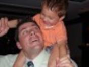 chris brummer and his son gunner june 2009
