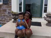 Baby Kayden and Kaliyah