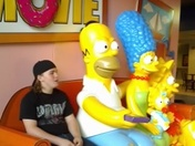 Family night at the Simpsons