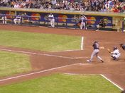 Mike Piazza at bat