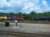 Rail Yard in Bellows Falls, VT