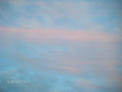 Interesting Pink Clouds