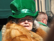 Forget the purple and a red hat, I want to wear fur and a green hat! You are a b