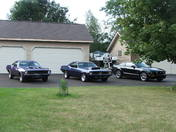 The Stable - 2 Cudas and a Mustang