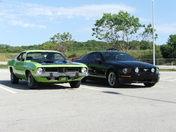 74 Cuda 440 / 05 Mustang GT