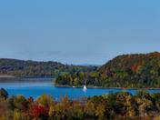 Fall Tranquility on Lake Champlain