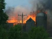 BELGIUM BARN FIRE