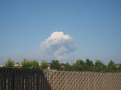 Smoke Clouds From Yuba City