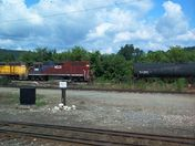 Rail Yard in Bellows Falls, VT