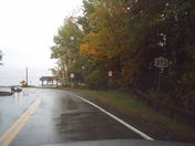 NY 373 towards Lake Champlain