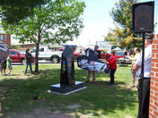 New Monument at Plattsburgh Barracks Veterans Park