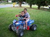 brothers having fun