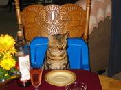 Waiting for Thanksgiving dinner
