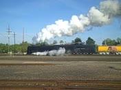 Historic Steam Train in Roseville