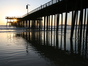 Last rays of the day - Pismo Beach pier