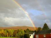 Somewhere, fall under the rainbow