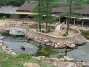 Japanese Garden House on the Rock