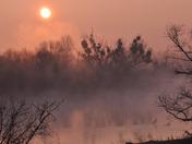 San Joaquin River at Sunrise