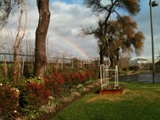 Rainbow Outside The KCRA Studio