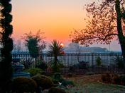 Winter sunrise in Galt