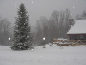 Winter Storm in Mt. Holly, VT