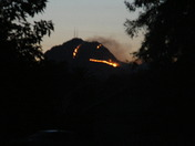 Sutter Buttes fire