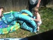 Pool fun on Fathers Day