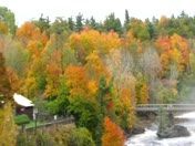 AuSable Chasm Falls