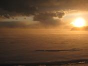 Winter Squall on Mallett's Bay