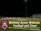Whitney full cheer team