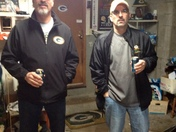 packer backers' @ Griffs' Man Cave
