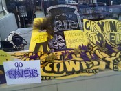 Ravens window display