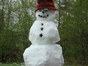 Mother's Day Snowman